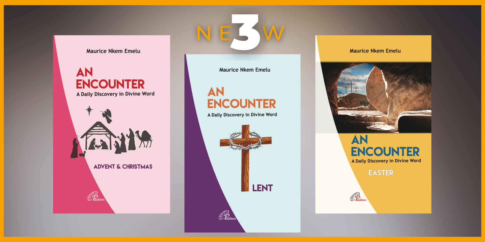 Paulines Publications Africa Banner for Maurice Emelu's Books