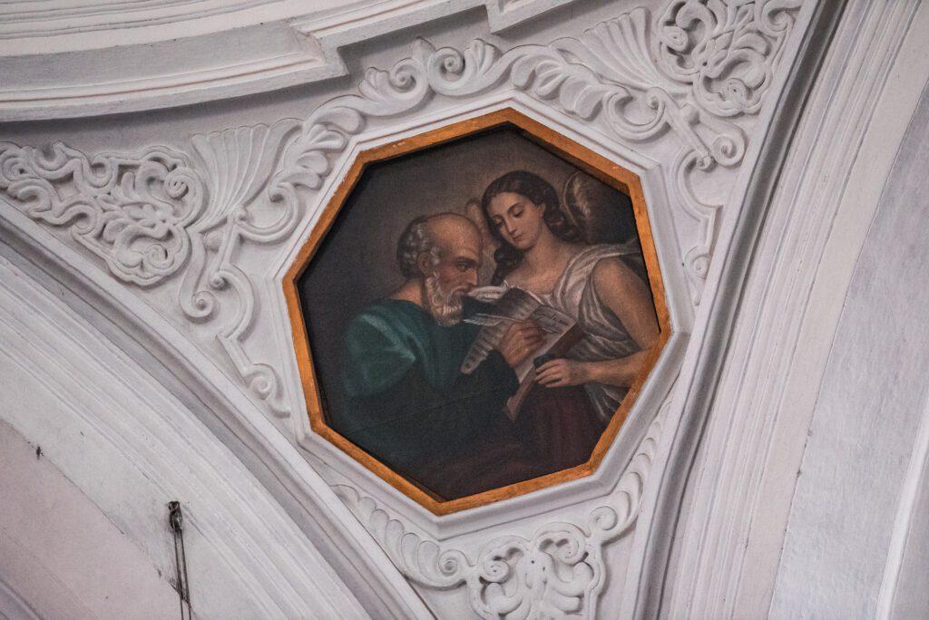 Saint Matthew Painting